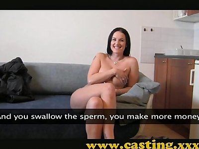 Casting - Boobs that need to be fucked
