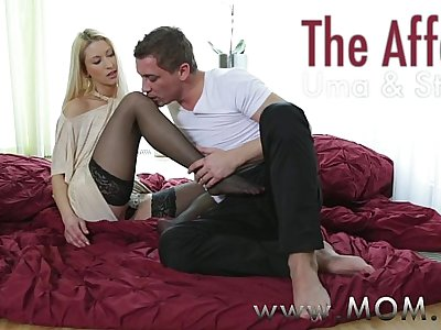 MOM Skinny mature woman fucks her married lover