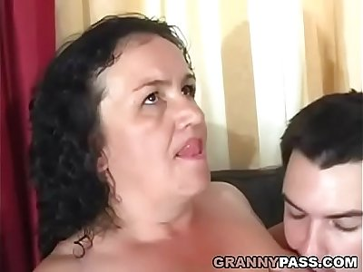 Granny Receives Anal