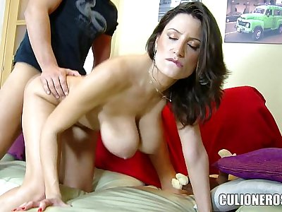 Spanish MILF with Natural Titties